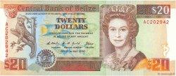 20 Dollars BELIZE  1990 P.55 NEUF