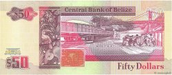 50 Dollars BELIZE  1991 P.56b NEUF