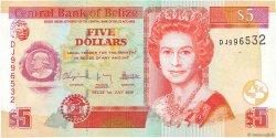 5 Dollars BELIZE  2009 P.67d pr.NEUF