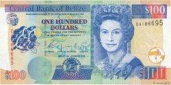100 Dollars BELIZE  2003 P.71a pr.NEUF