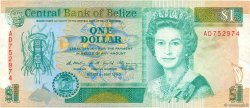 1 Dollar BELIZE  1990 P.51 TTB