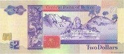 2 Dollars BELIZE  1991 P.52b pr.NEUF