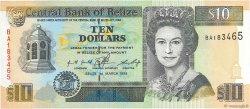 10 Dollars BELIZE  1996 P.59 pr.NEUF