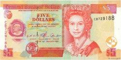 5 Dollars BELIZE  1999 P.61a pr.NEUF