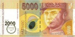 5000 Korun SLOVAQUIE  2000 P.40 NEUF