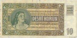 10 Korun SLOVAQUIE  1939 P.04a pr.TTB