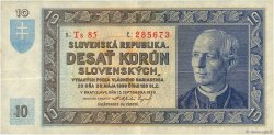 10 Korun SLOVAQUIE  1939 P.04a TTB+