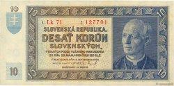 10 Korun SLOVAQUIE  1939 P.04a SUP