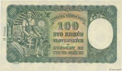 100 Korun SLOVAQUIE  1940 P.11a pr.NEUF