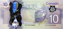 10 Dollars CANADA  2013 P.107b NEUF