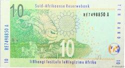 10 Rand AFRIQUE DU SUD  2009 P.128b NEUF