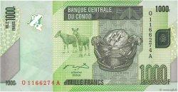 1000 Francs CONGO (RÉPUBLIQUE)  2012 P.101a NEUF