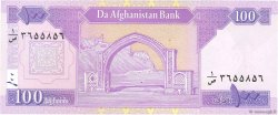 100 Afghanis AFGHANISTAN  2004 P.070b NEUF