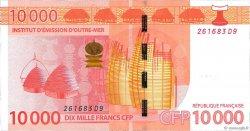 10000 Francs CFP POLYNÉSIE, TERRITOIRES D