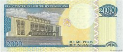 2000 Pesos Dominicanos RÉPUBLIQUE DOMINICAINE  2012 P.188a NEUF