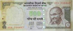 500 Rupees INDE  2011 P.099(f) NEUF