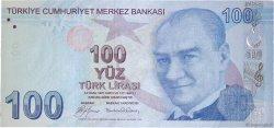 100 Lira TURQUIE  2009 P.226 NEUF