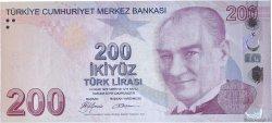 200 Lira TURQUIE  2009 P.227 NEUF
