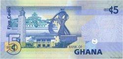 5 Cedis GHANA  2011 P.38c NEUF
