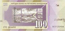 100 Denari MACÉDOINE  2009 P.16i NEUF