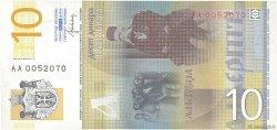 10 Dinara SERBIE  2013 P.54b NEUF