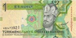 1 Manat TURKMÉNISTAN  2012 P.29a NEUF