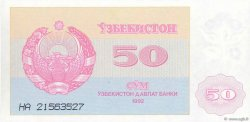 50 Sum OUZBEKISTAN  1992 P.66a NEUF
