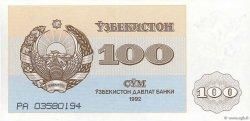 100 Sum OUZBEKISTAN  1992 P.67a NEUF