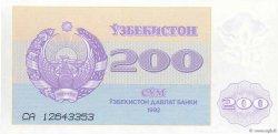 200 Sum OUZBEKISTAN  1992 P.68a NEUF