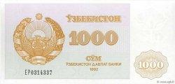 1000 Sum OUZBEKISTAN  1992 P.70b pr.NEUF