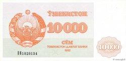 10000 Sum OUZBEKISTAN  1992 P.72a NEUF