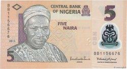 5 Naira NIGERIA  2013 P.38 NEUF