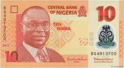10 Naira NIGERIA  2013 P.39 NEUF