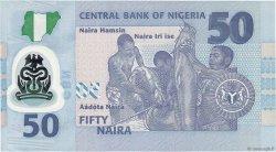 50 Naira NIGERIA  2013 P.40 NEUF