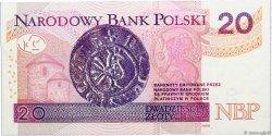 20 Zlotych POLOGNE  2012 P.184 NEUF