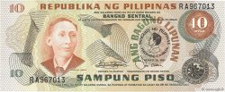 10 Piso PHILIPPINES  1981 P.167a NEUF