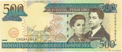 500 Pesos Oro RÉPUBLIQUE DOMINICAINE  2003 P.172b NEUF