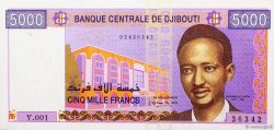 5000 Francs DJIBOUTI  2002 P.44 NEUF