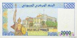 2000 Francs DJIBOUTI  2005 P.43 NEUF