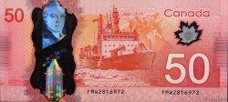 50 Dollars CANADA  2012 P.109a NEUF