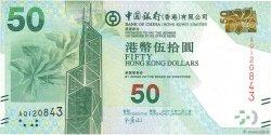 50 Dollars HONG KONG  2013 P.342c NEUF
