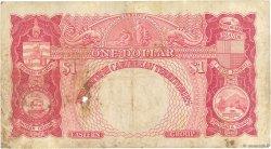 1 Dollar CARAÏBES  1955 P.07b B+