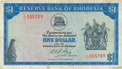 1 Dollar RHODÉSIE  1974 P.30k