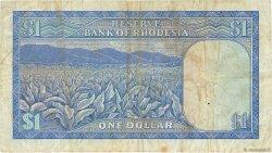 1 Dollar RHODÉSIE  1974 P.30k TB