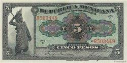 5 Pesos MEXIQUE  1915 PS.0685a NEUF