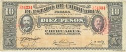 10 Pesos MEXIQUE  1914 PS.0533c TB