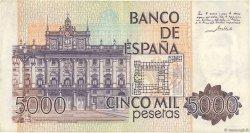 5000 Pesetas ESPAGNE  1979 P.160 TTB