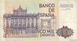 5000 Pesetas ESPAGNE  1979 P.160 pr.TTB