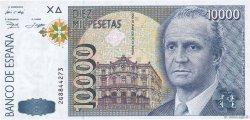 10000 Pesetas ESPAGNE  1992 P.166 SPL+
