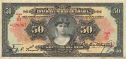 50 Mil Reis BRÉSIL  1926 P.105a TB+